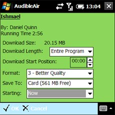 AudibleAir - Download