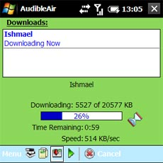 AudibleAir - Download Settings