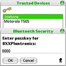 Bluetooth Stereo Pairing Passcode