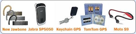 Bluetooth accessories for Centro, Treo