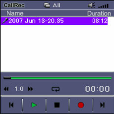 CallRec Software Files