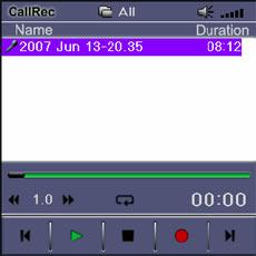 CallRec Software Files