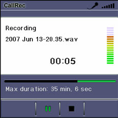 CallRec Software Record