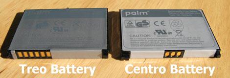 Centro Battery Comparison