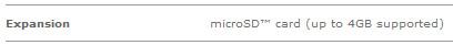 Centro microSDHC compatibility