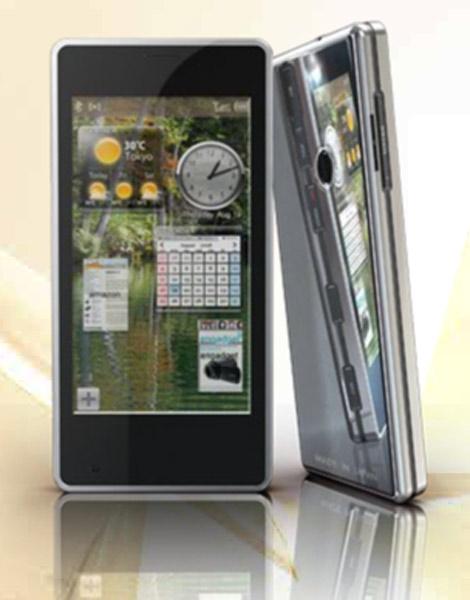 Edelweiss-Smartphone