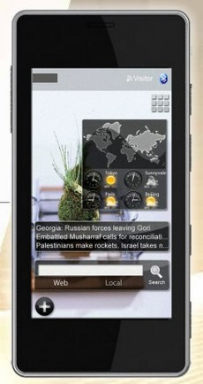 Edelweiss Smartphone - Today Screen 2