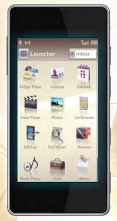 Edelweiss Smartphone - Launcher