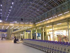 Eurostar St Pancras International Station