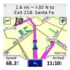 Garmin Mobile XT - Map