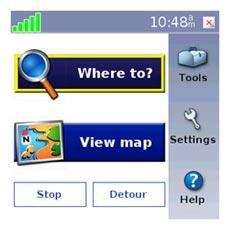 Garmin Mobile XT - Navigation