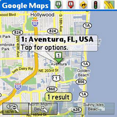 Google Maps v1.2 - Location Search
