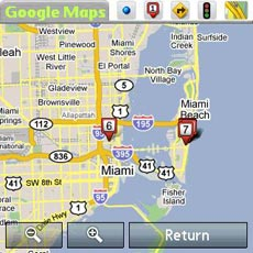 Google Maps - Map view