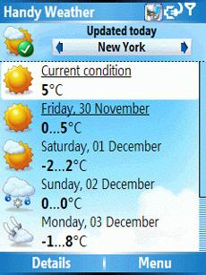 Handy Weather Forecast