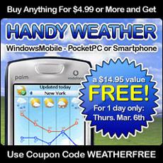 HandyWeather Offer