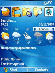 Handy Weather Today Screen