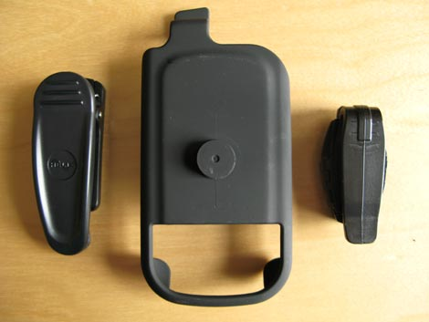Helix Centro Holster - Belt clips