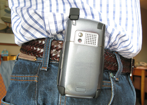 Helix Holster On Belt