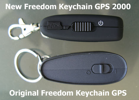 Freedom Keychain GPS 2000 Comparison