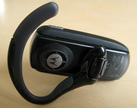 Motorola H800 Headset Back