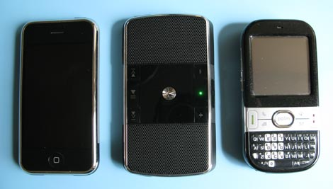 Motorola EQ5 comparison