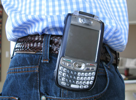 Treo Metal Case with Belt Clip