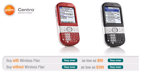 Buy Your Palm Centro Now!