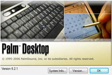 Palm Desktop for Windows Vista