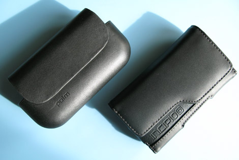Palm-Treo-Pro-Leather Side Case - Comparison