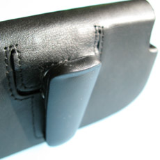 Palm-Treo-Pro-Leather Side Case - Belt Clip 1