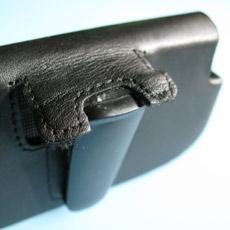 Palm-Treo-Pro-Leather Side Case - Belt Clip 2