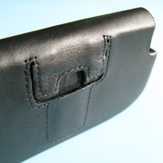 Palm-Treo-Pro-Leather Side Case - Belt Clip 3