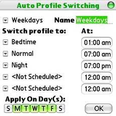 PowerMan Auto Profile Switching