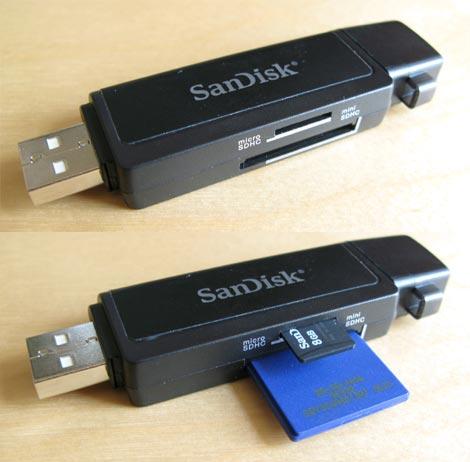 SanDisk MobileMate SD+ Reader