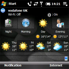 Spb Mobile Shell - Today Weather Tab