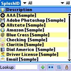 SplashID Main