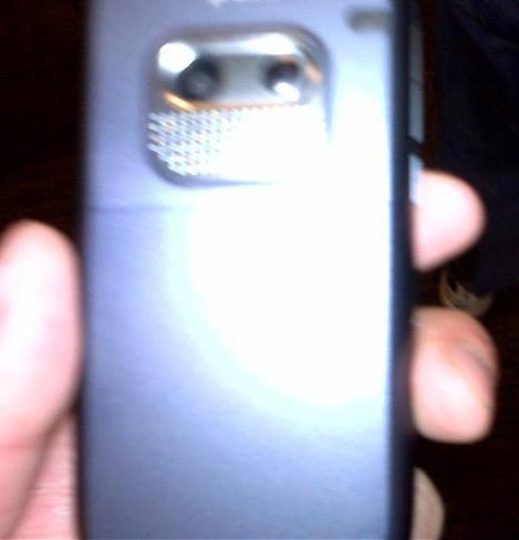 Sprint Treo 800w - Back