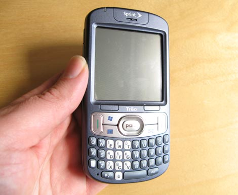 Sprint Treo 800w In My Hand