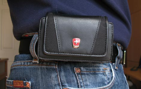 Swiss Mobility Case - On Belt