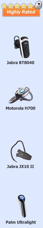 Top Treo Bluetooth Headset