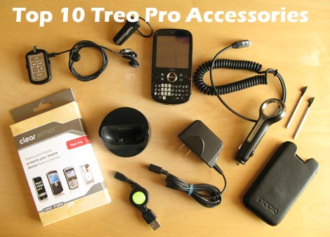 Top10 Treo Pro Accessories