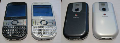 Treo 500 Front Back