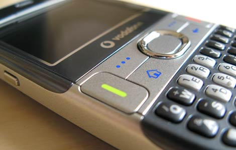 Treo 500 Screen - Keyboard