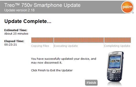 Treo 750 Windows Mobile 6 Upgrade