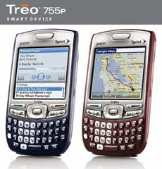 Treo 755p Colours