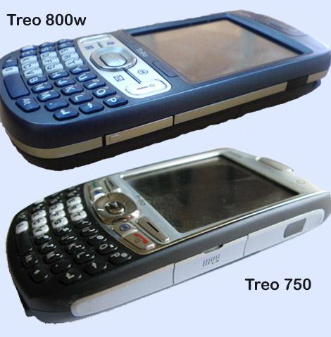 Treo 800w Comparison