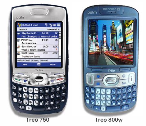 Treo 800w & Treo 750
