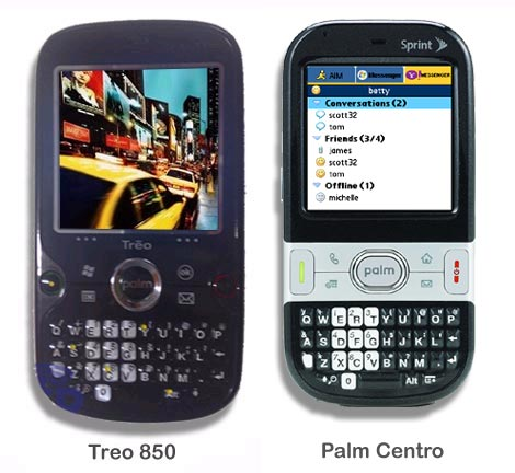 Treo 850 & Palm Centro