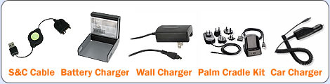 Treo Centro Chargers Cables