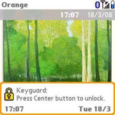 Treo and Centro Keyguard
